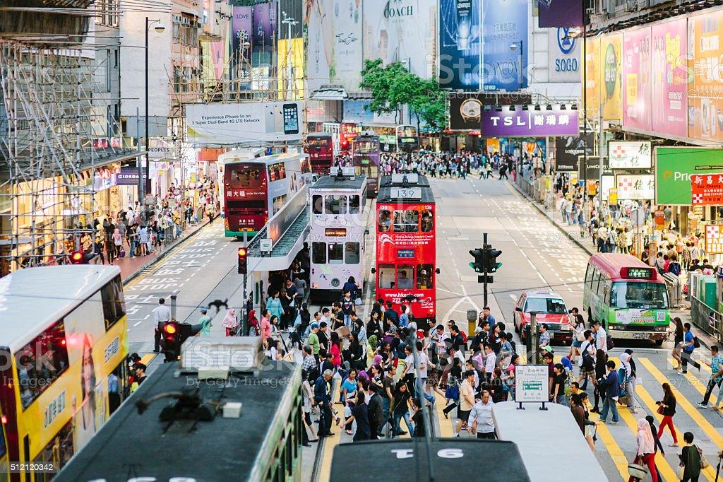 Causeway Bay, Hong Kong stock photo
