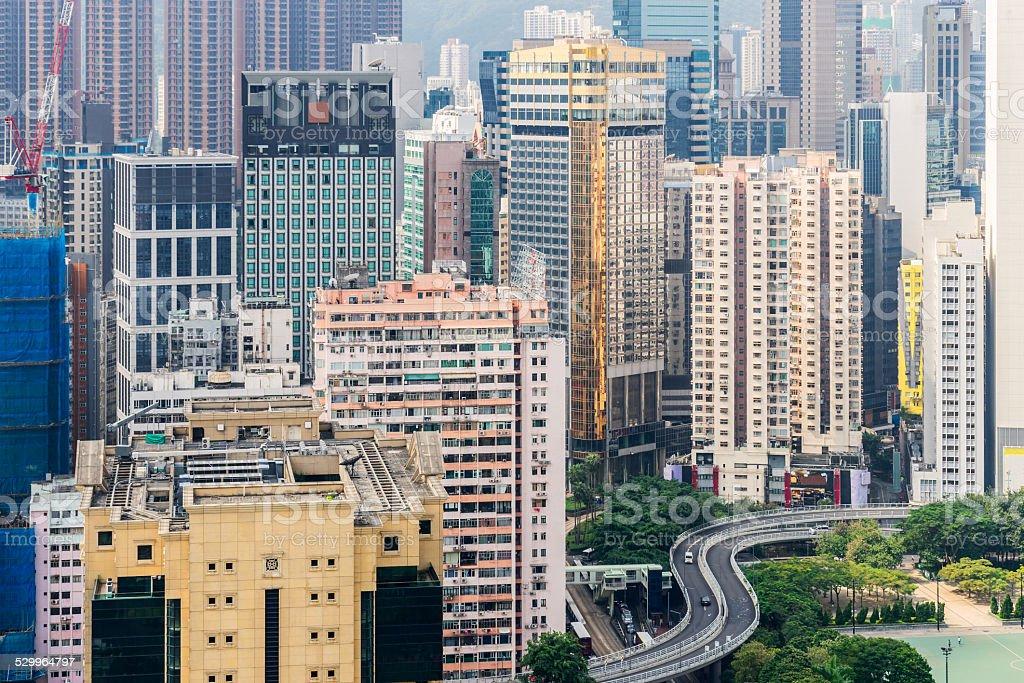 Causeway Bay stock photo