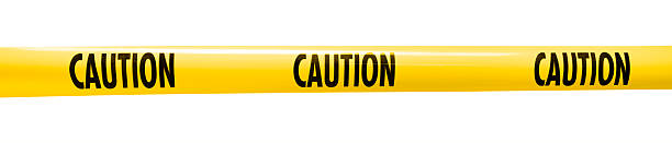 Caution Caution cordon tape tape stock pictures, royalty-free photos & images