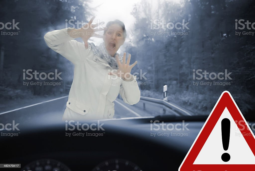 Caution stock photo