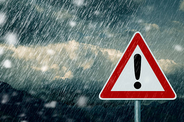 Caution Caution extreme weather stock pictures, royalty-free photos & images