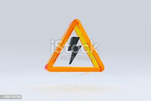 istock Caution sign 1230725700