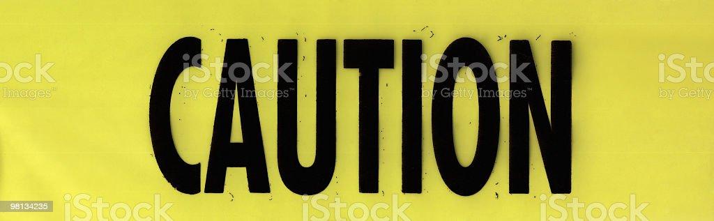 Caution Tape royalty-free stock photo