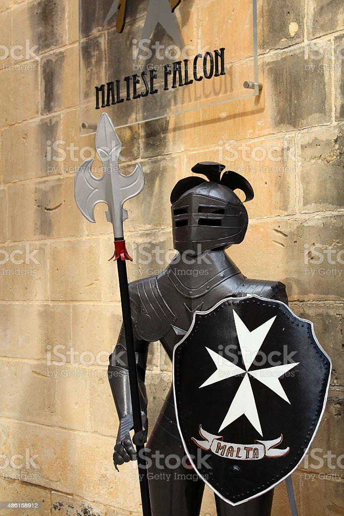 cavaliere di malta stock photo