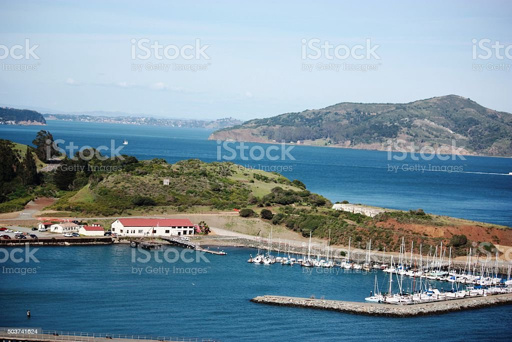 Cavallo Point in the Fort Baker area Sausalito, San Francisco stock photo