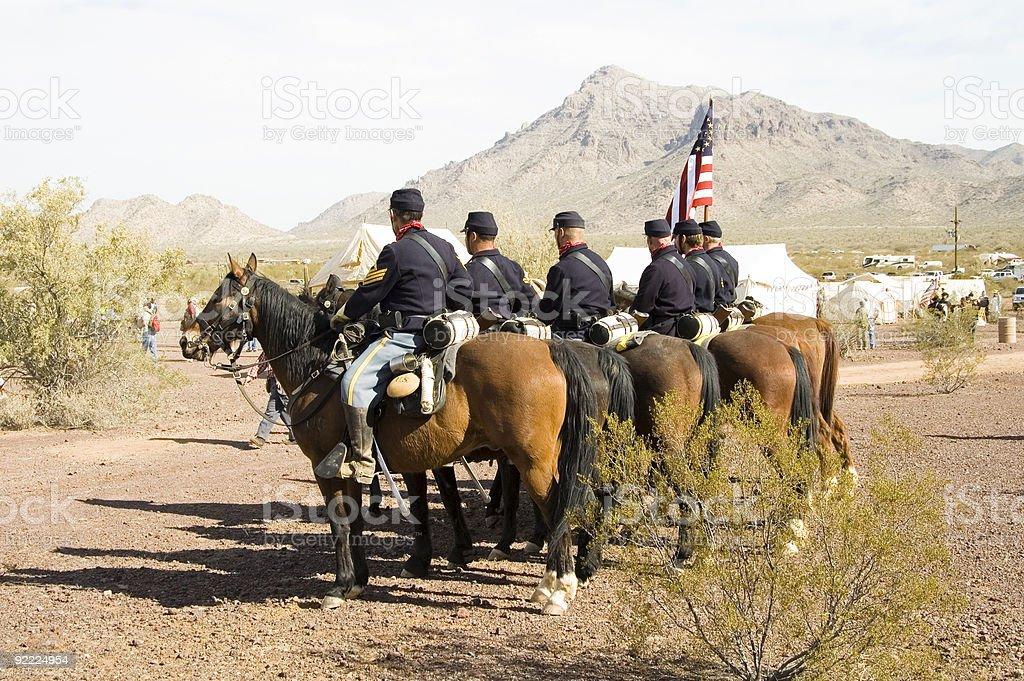 cavalry 2 royalty-free stock photo