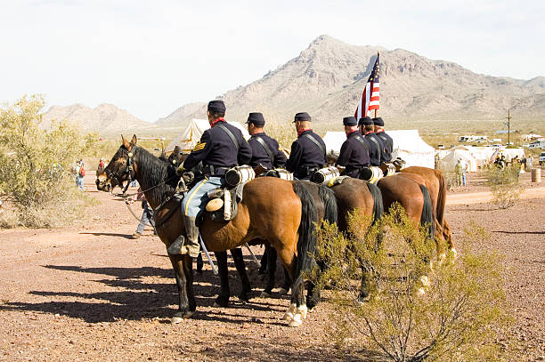 cavalry 2  american civil war stock pictures, royalty-free photos & images
