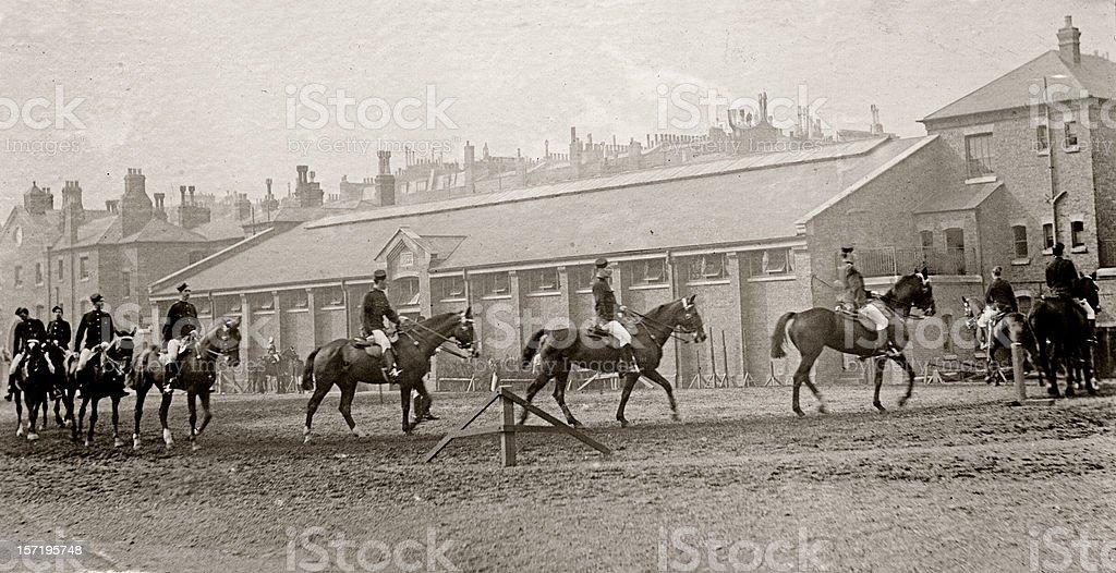 Cavalry royalty-free stock photo