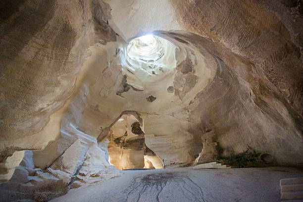 Höhle im Wahl Guvrin national park – Foto