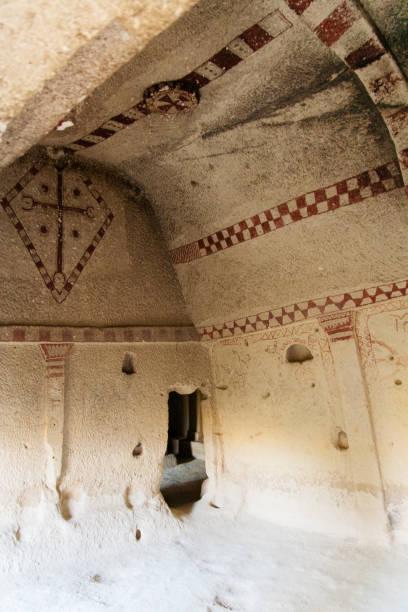 Cave Church near Goreme stock photo