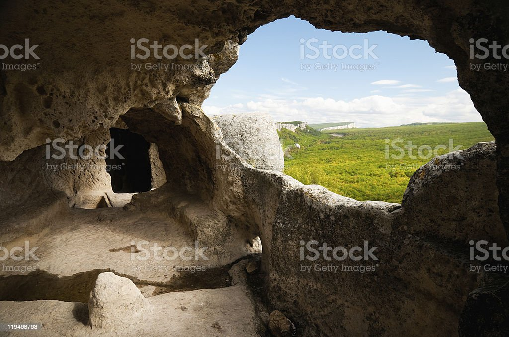 cave city stock photo