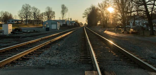 Cave City Railroad stock photo
