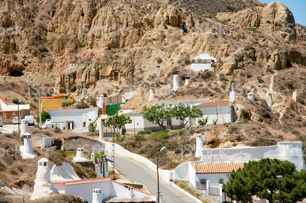 Cave Houses Guadix Spain Stock Photo Download Image Now Istock