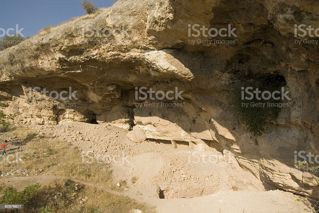 cave in mountain royalty-free stock photo