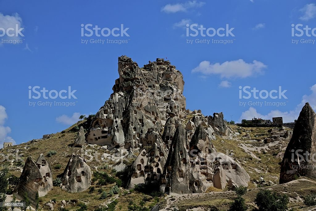 Cave mountain in stock photo