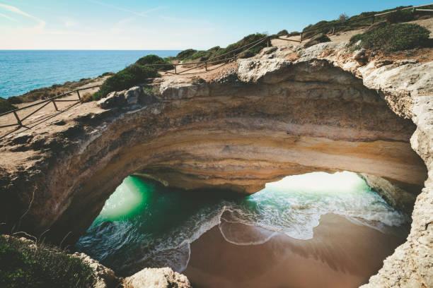 Höhle von Benagil, algarve Küste, Portugal – Foto