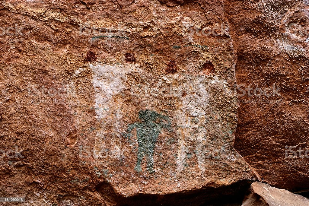 Cave Painting royalty-free stock photo