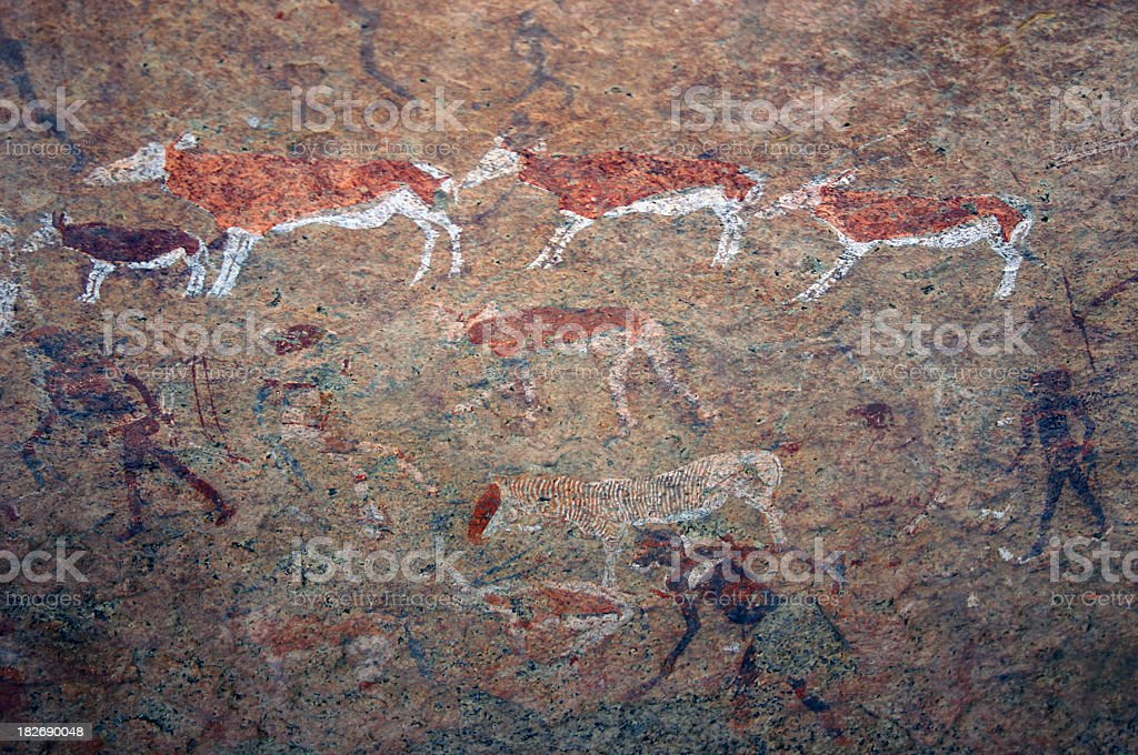 Cave Paintings stock photo