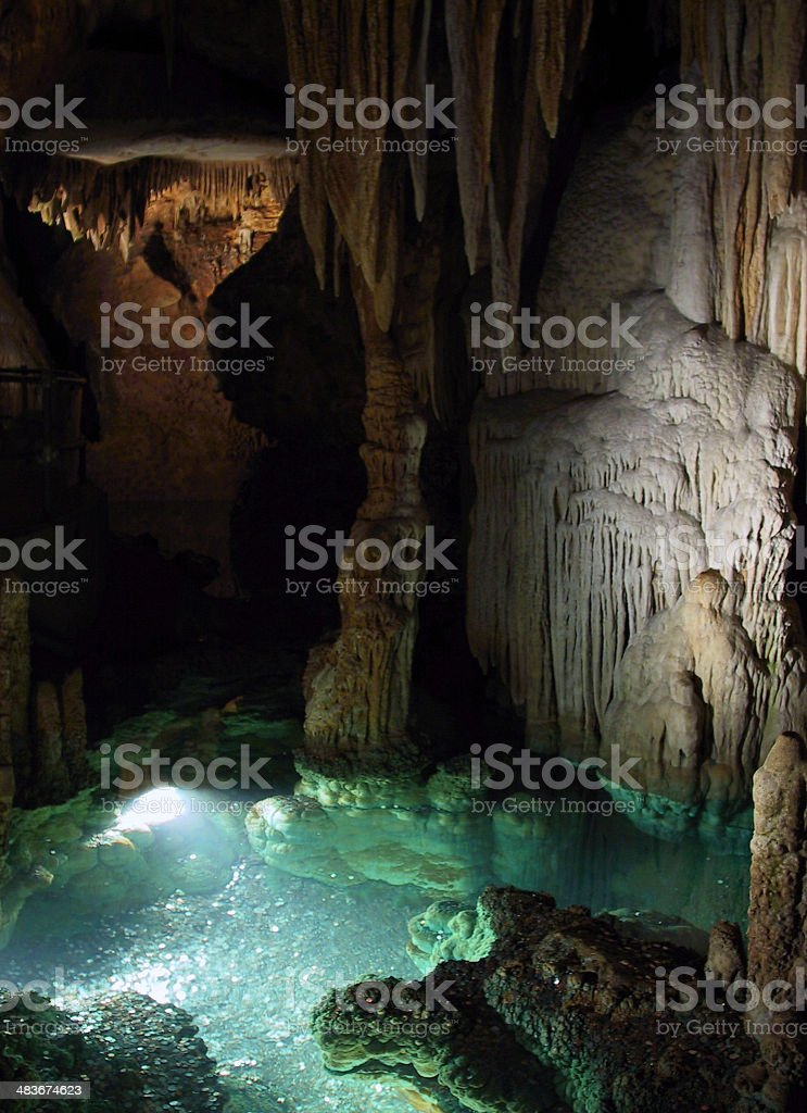 cave pool royalty-free stock photo