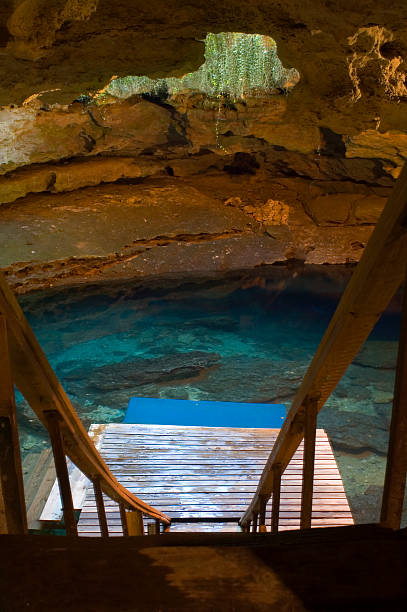 Cave Spring stock photo