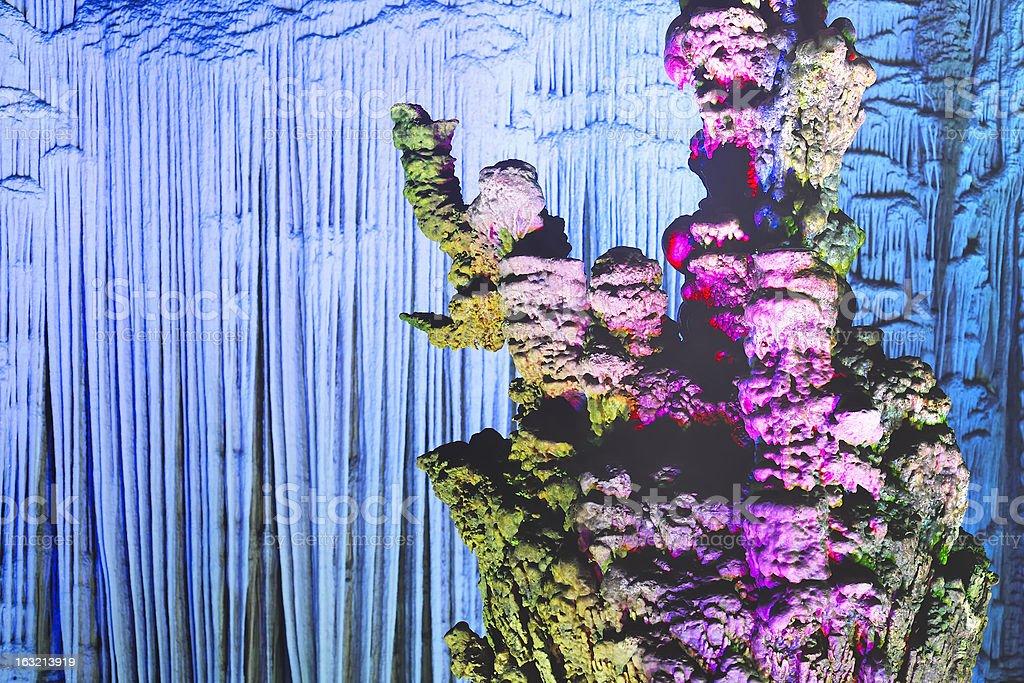 cave stalactite royalty-free stock photo