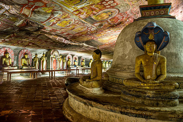 Höhlentempel in Dambulla, Sri Lanka. – Foto