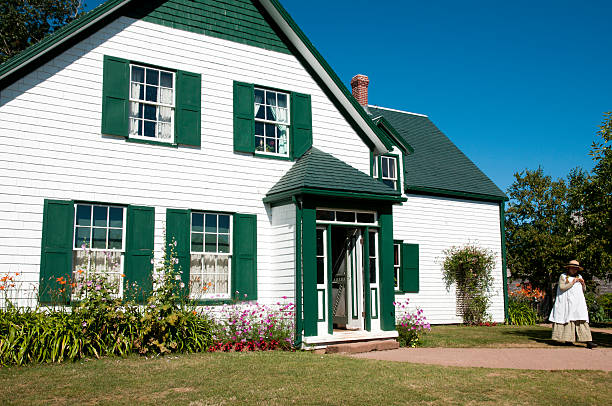 cavendish - canada - prince edward island stock photos and pictures