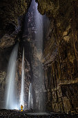 Landscape photo of Cheddar Gorge in Somerset.
