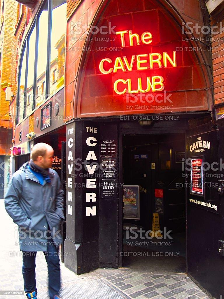 Cavern Club Beatles landmark in Liverpool, England stock photo