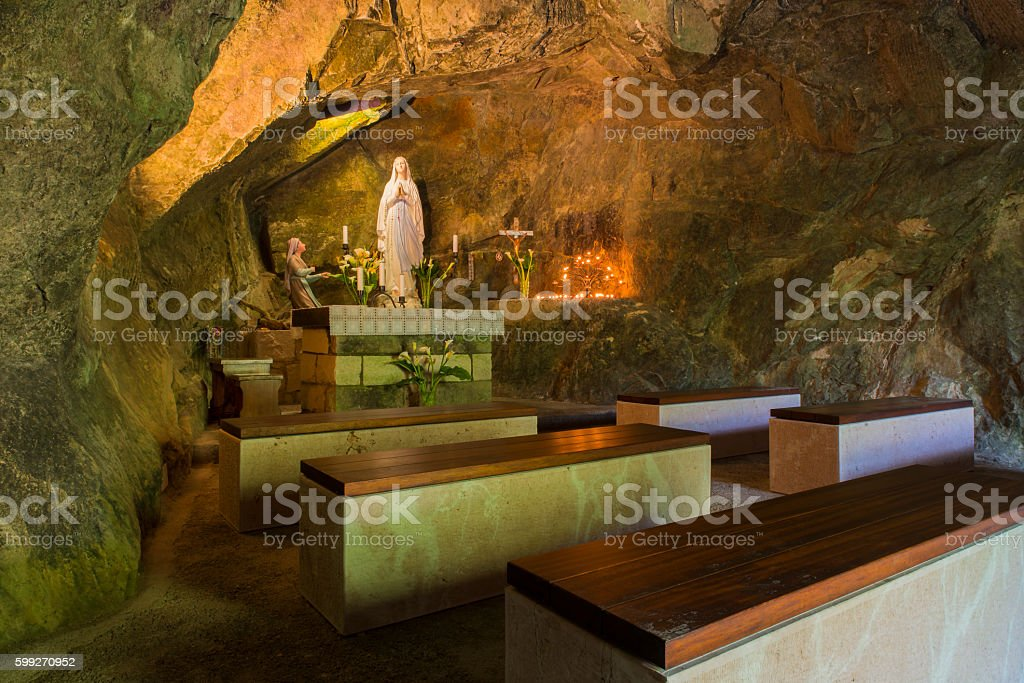 Caves Caglieron treviso stock photo