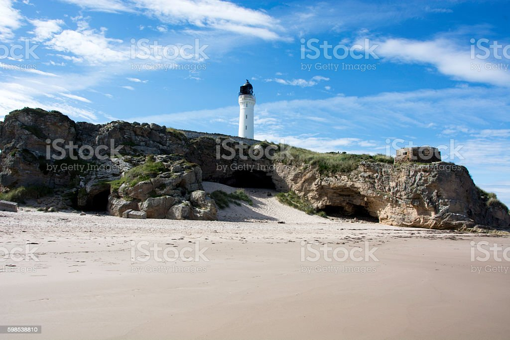 Caves in Rocks stock photo