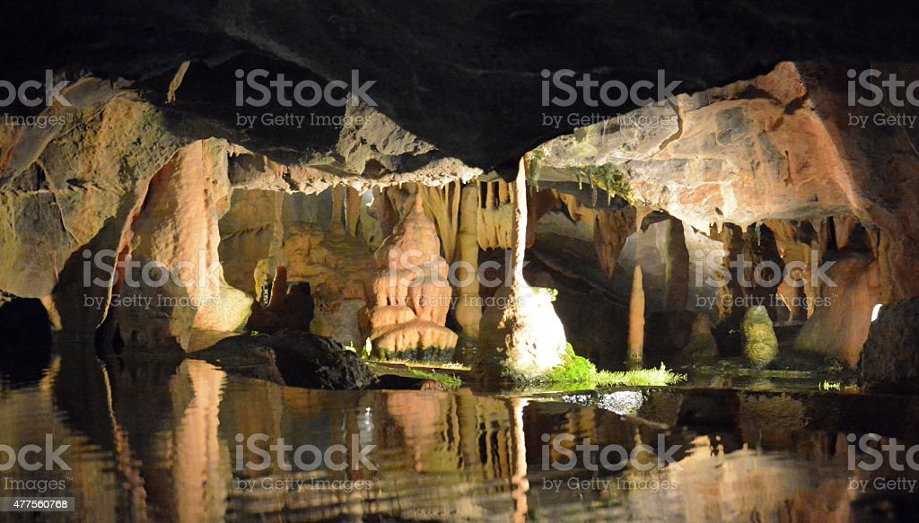 Caves stock photo