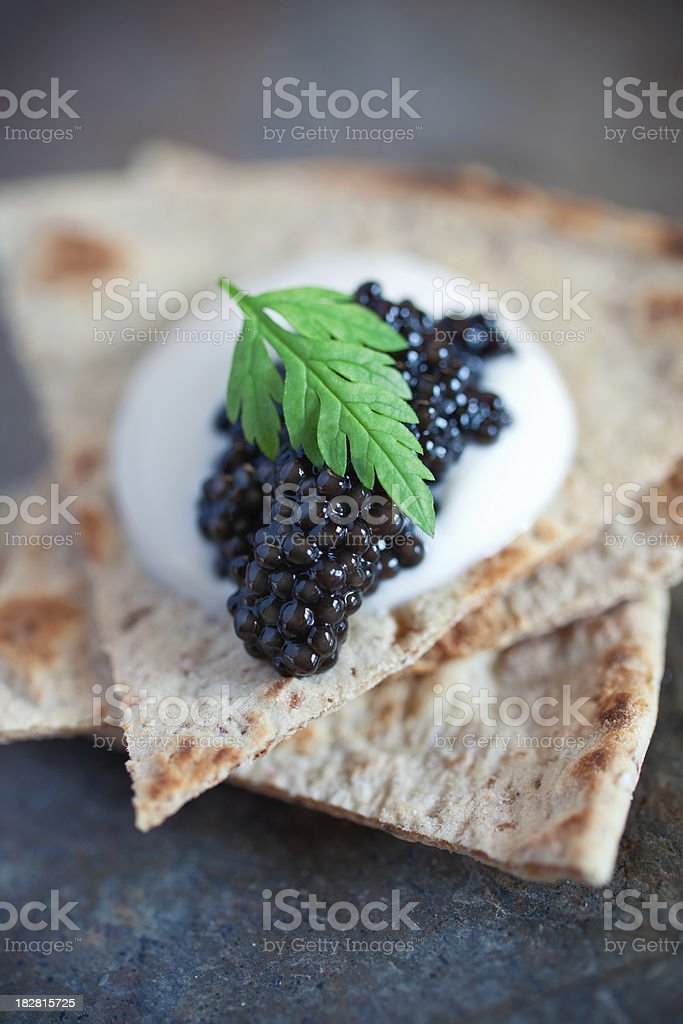 Caviar royalty-free stock photo