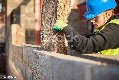 installing cavity insulation
