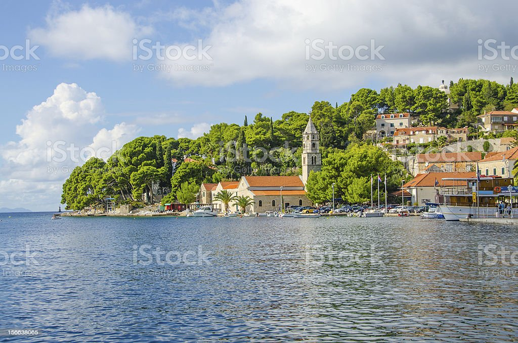 Cavtat, Croatia stock photo