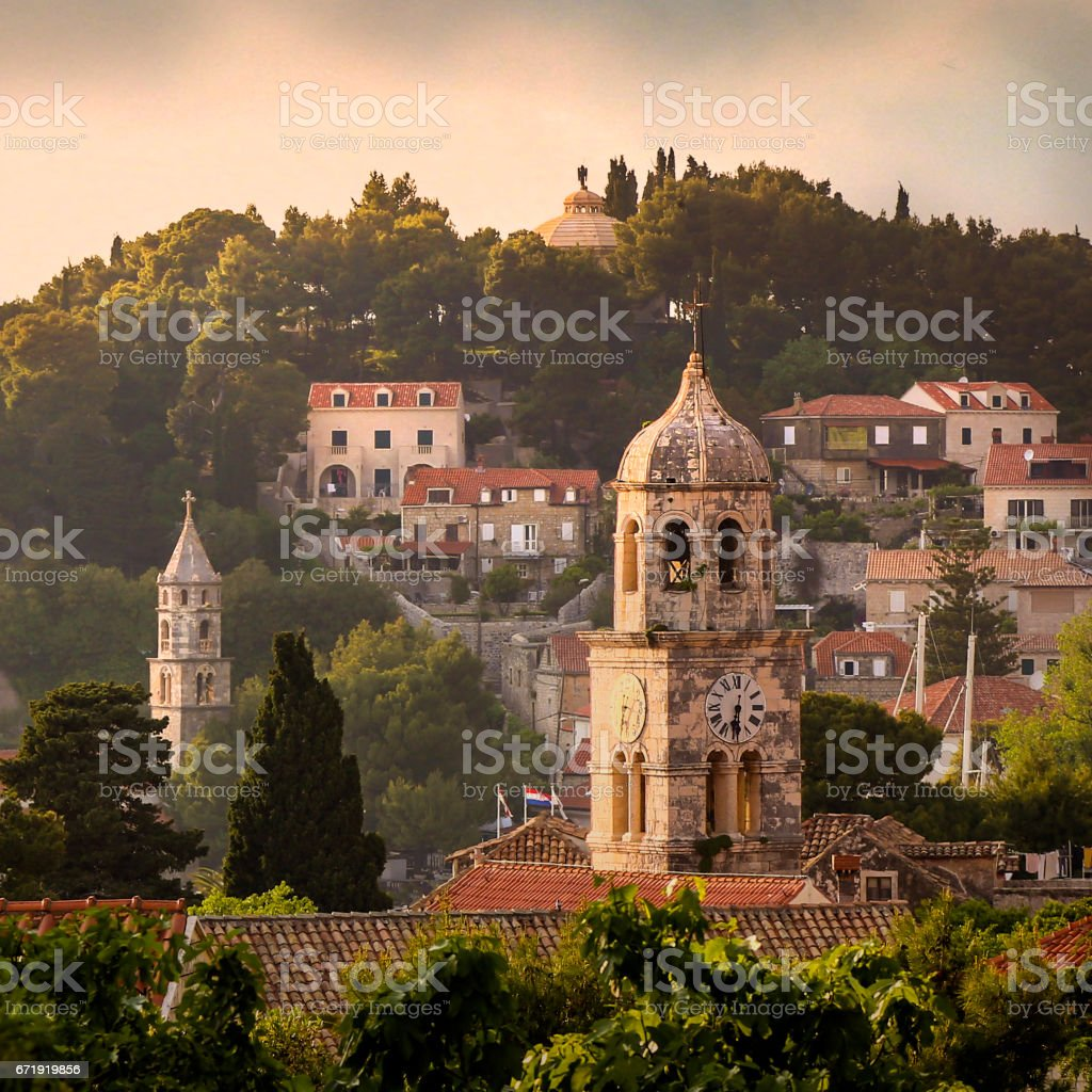 Cavtat stock photo