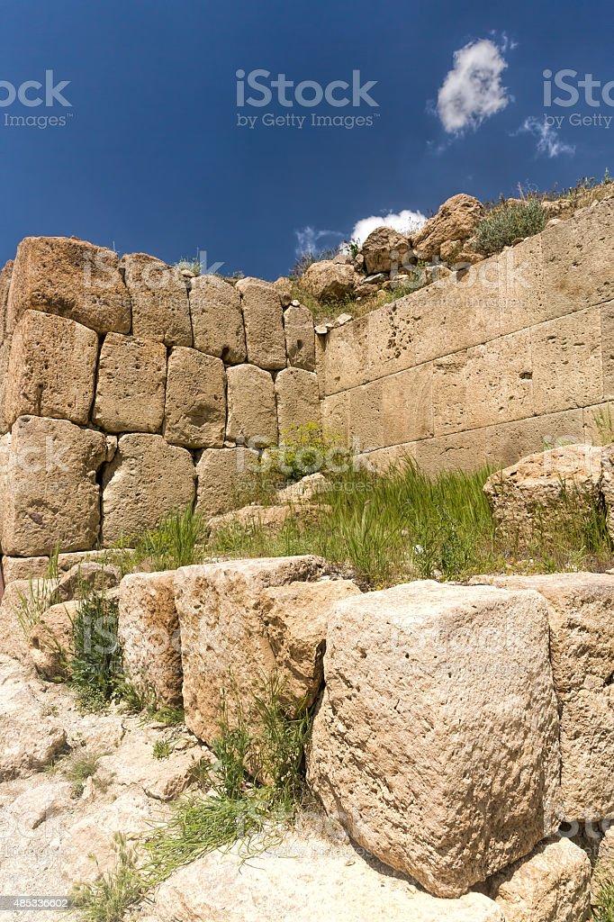 Cavustepe (Sardurihinli) - Urartu civilisation stock photo