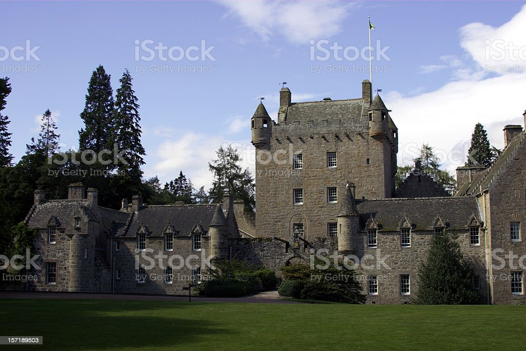 Cawdor Castle stock photo