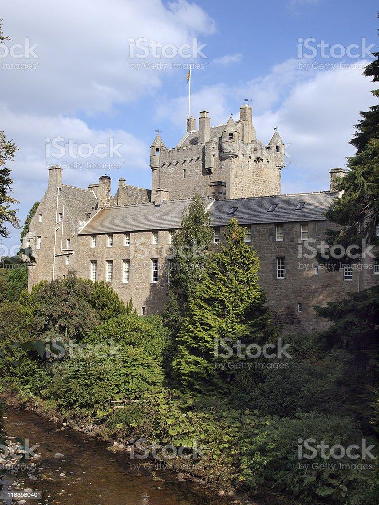 Cawdor Castle, Scotland royalty-free stock photo