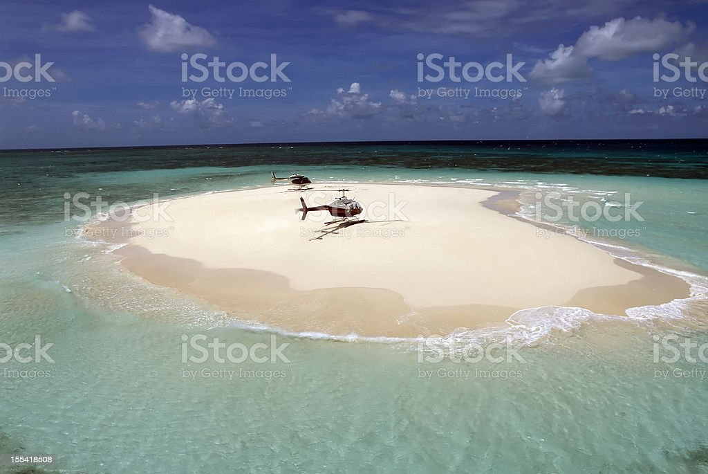 cay great barrier reef queensland australia royalty-free stock photo
