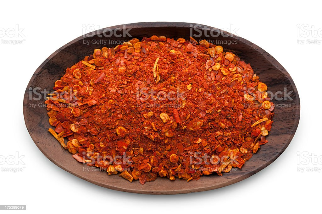 Cayenne pepper stock photo