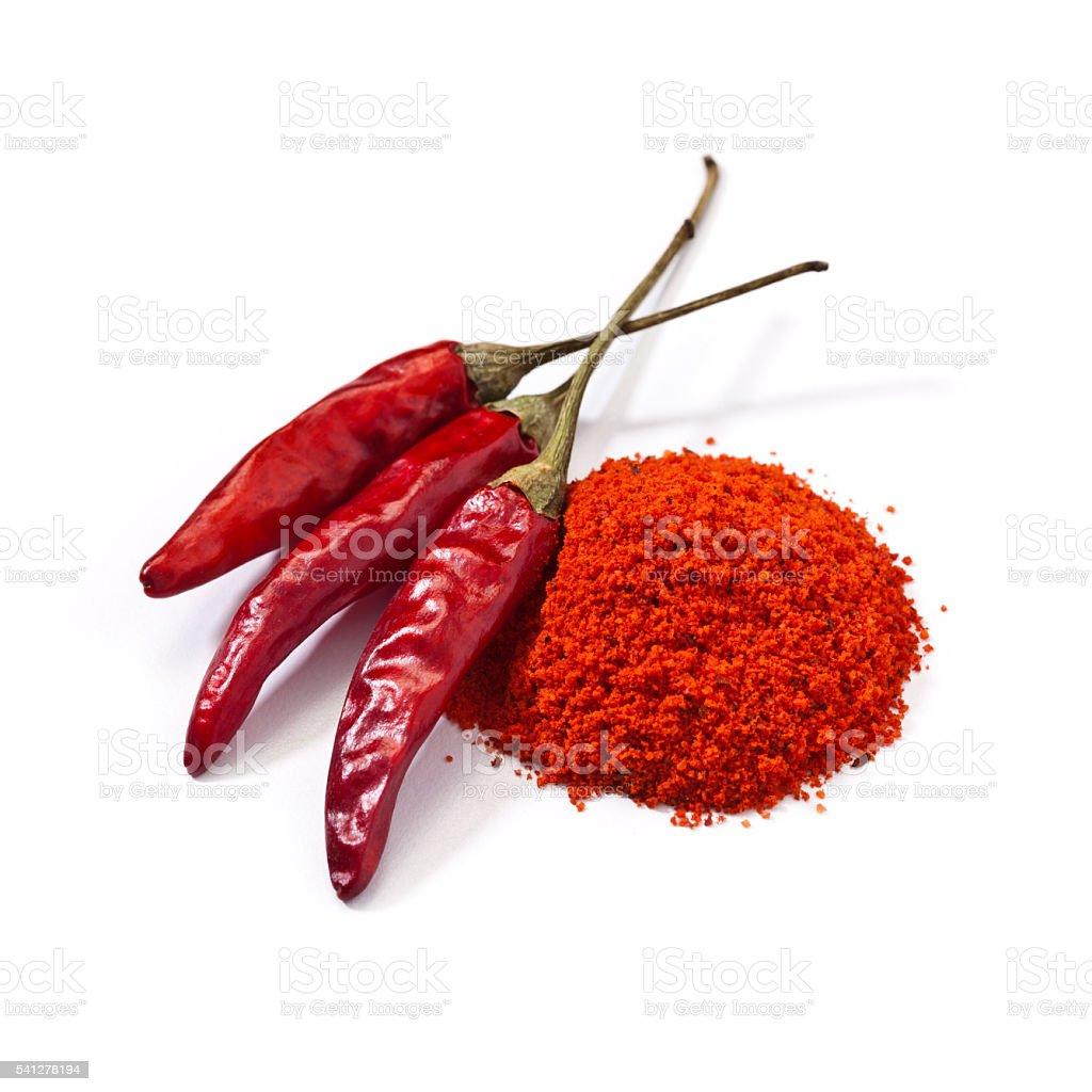Cayenne pepper stock photo