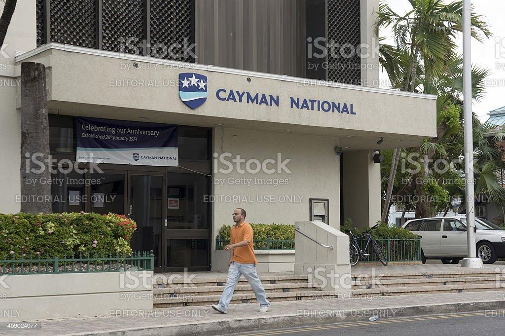 Caïman National Bank, George Town - Photo de Paradis fiscal libre de droits