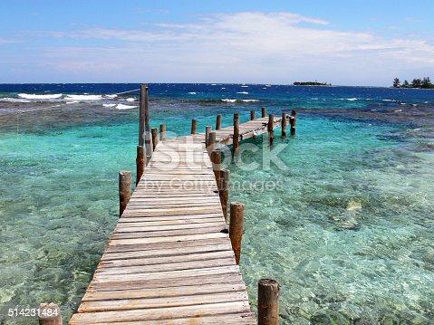 istock Cayos Cochinos Transparent Caribbean waters 514231484