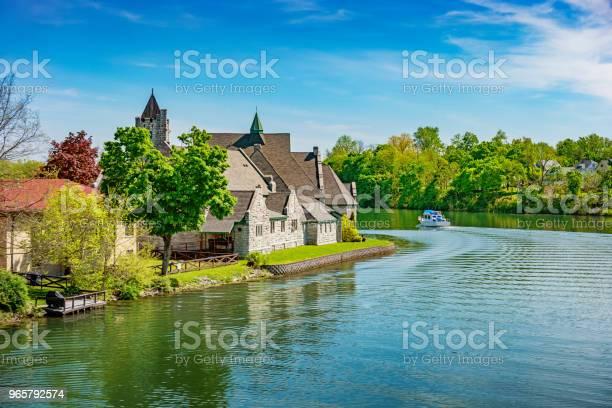 Cayugaseneca Canal In Seneca Falls New York State Usa - Fotografias de stock e mais imagens de Antigo