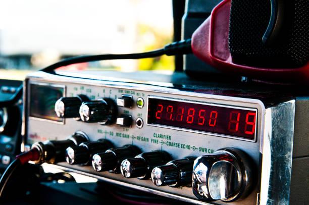 cb radio - ham radio stock photos and pictures