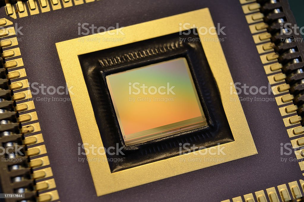 ccd sensor royalty-free stock photo