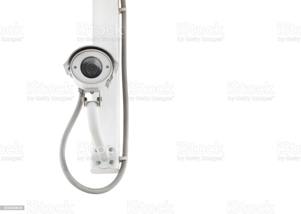Cctv Isolated On White Background Stock Photo - Download