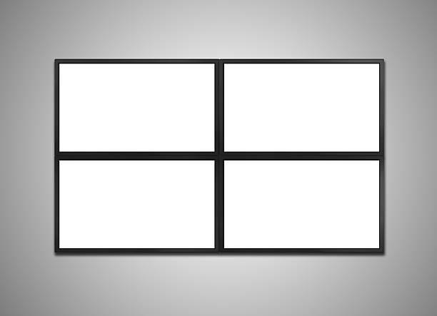 cctv-monitor display stock - 4k led tv stock-fotos und bilder
