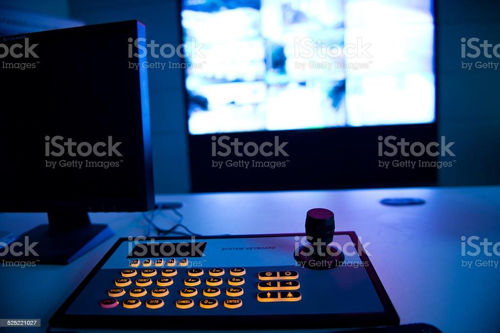 cctv security system stock photo